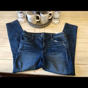 American eagle high rise jegging extra stretch